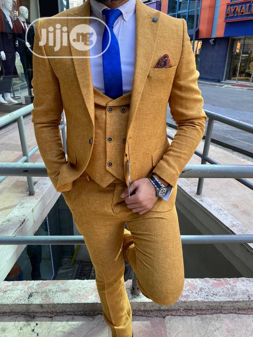 Unique Design Of Wedding Suit For Men Of Class | Wedding Wear & Accessories for sale in Ifako-Ijaiye, Lagos State, Nigeria