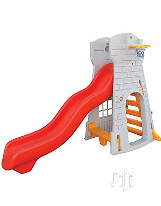 Archive: Castle Slide With Basket Po