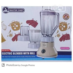Master Chef Blender / Grinder With 2 Mill Cups | Kitchen Appliances for sale in Lagos State, Lagos Island (Eko)