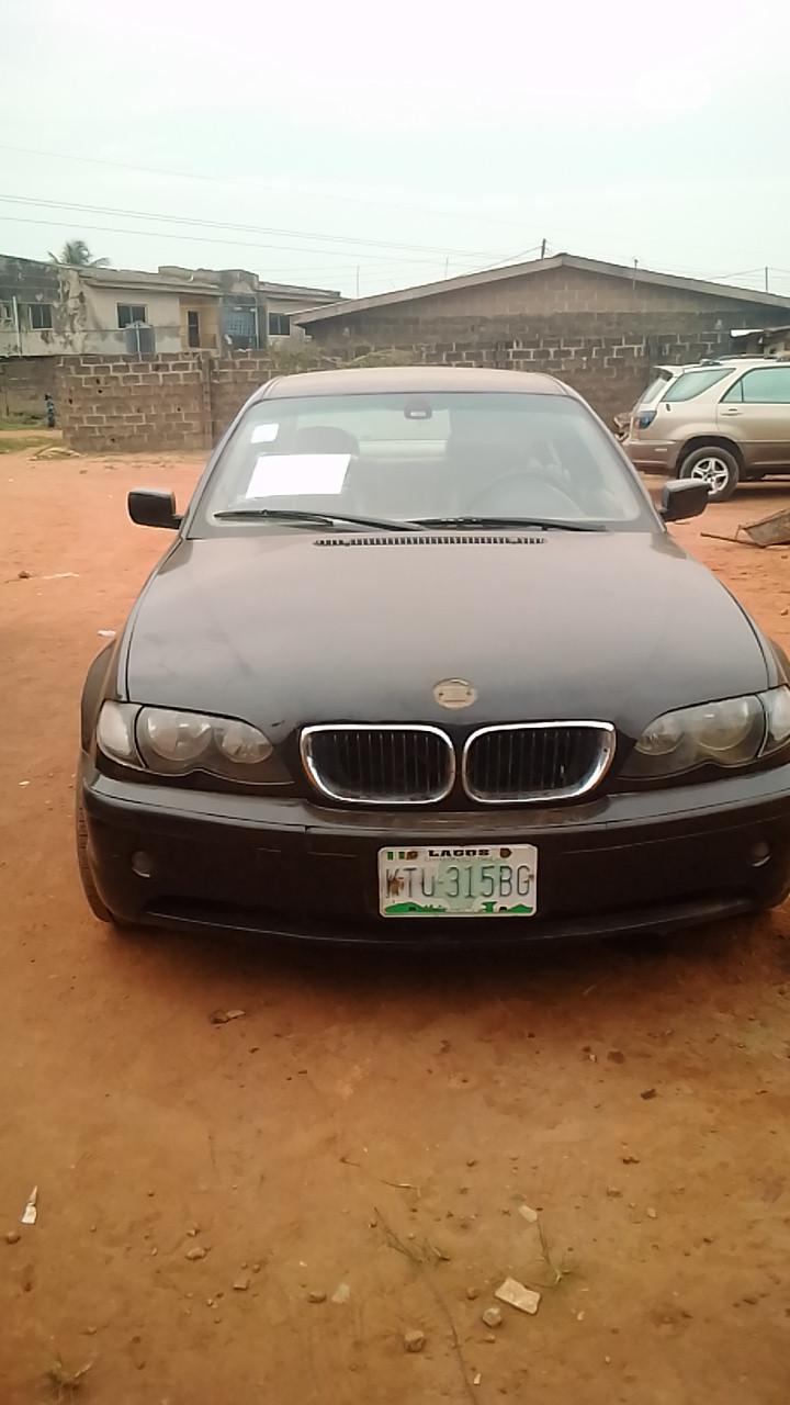 Archive: BMW 318i 2000 Black