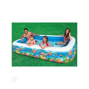 Intex Inflatable 10ft By 6ft Swimming Pool With Pump   Sports Equipment for sale in Lagos State, Surulere