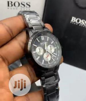High Quality Hugo Boss Stainless Steel Watch   Watches for sale in Lagos State, Magodo