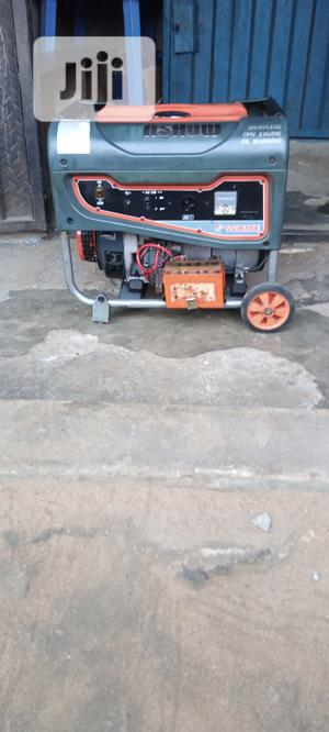 Fairly Used 3KVA SUNSHOW SS3600E Copper Gen With The Receipt | Electrical Equipment for sale in Rivers State, Port-Harcourt