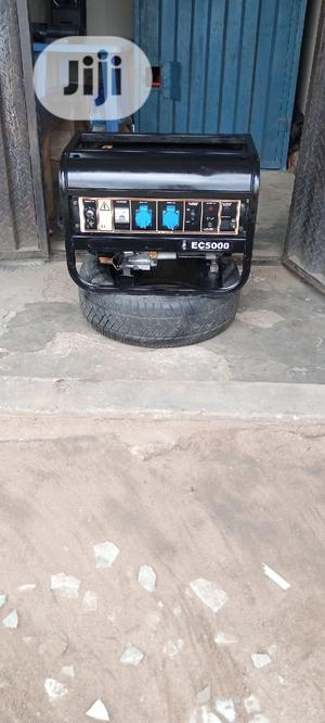 Fairly Used 3KVA SUMEC FIRMAN EC5000E Copper Gen + D Receipt | Electrical Equipment for sale in Rivers State, Port-Harcourt