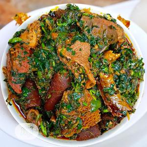 Afang Soup + Assorted Meat (4 Liters) | Meals & Drinks for sale in Abuja (FCT) State, Lugbe District