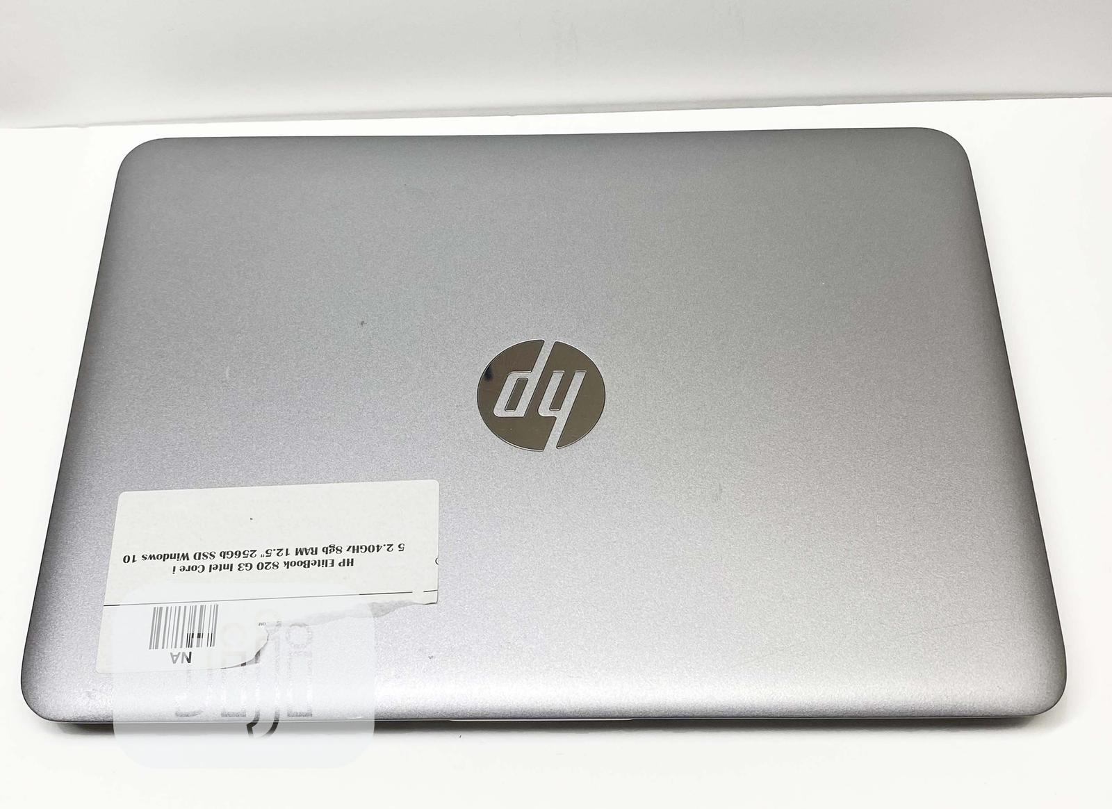 Laptop HP EliteBook 820 G3 8GB Intel Core i5 HDD 500GB   Laptops & Computers for sale in Ikeja, Lagos State, Nigeria