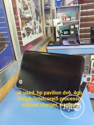 Laptop HP Pavilion Dv6 4GB Intel Core i5 HDD 500GB   Laptops & Computers for sale in Enugu State, Enugu