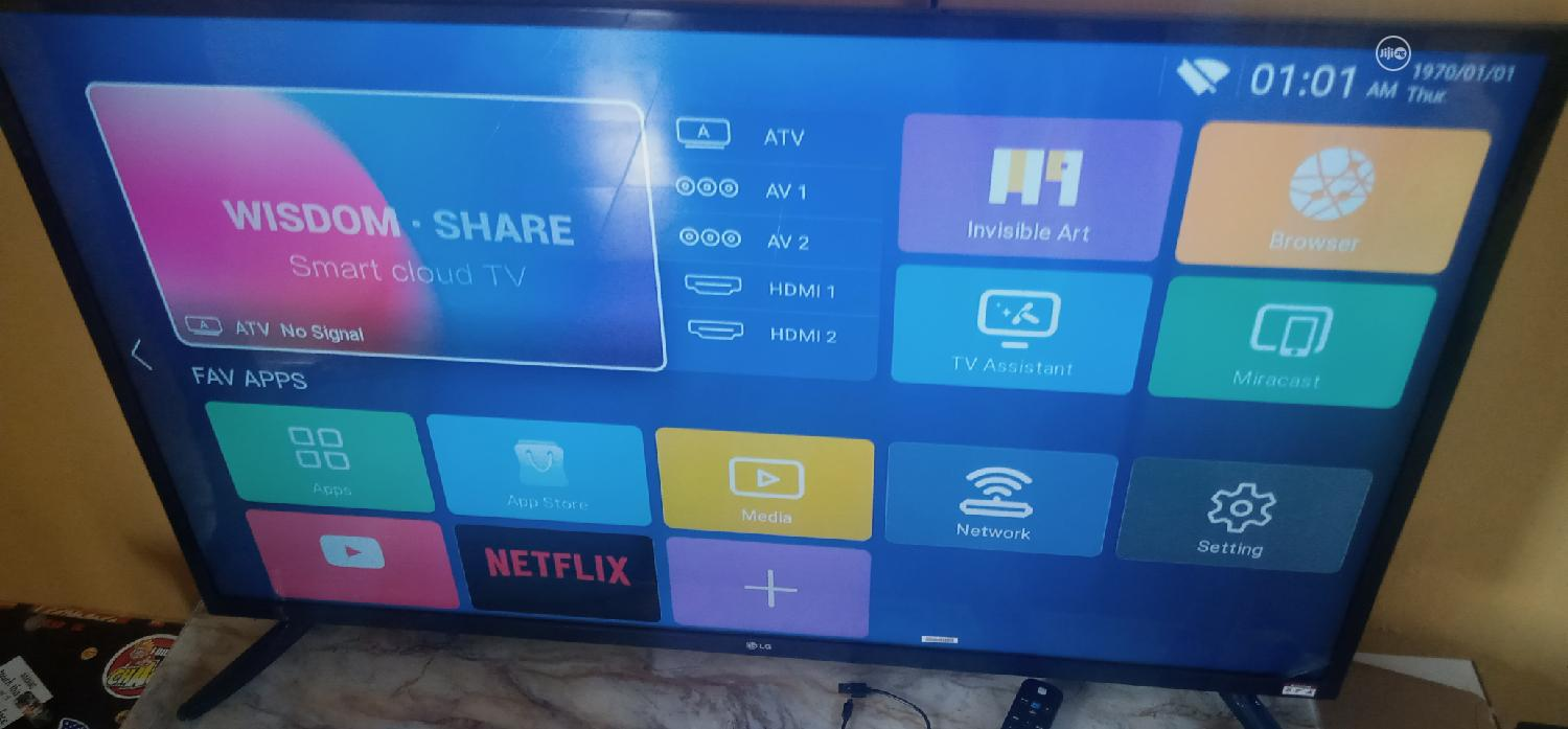 LG 65 Inches Tv At A Discounted Price | TV & DVD Equipment for sale in Sapele, Delta State, Nigeria
