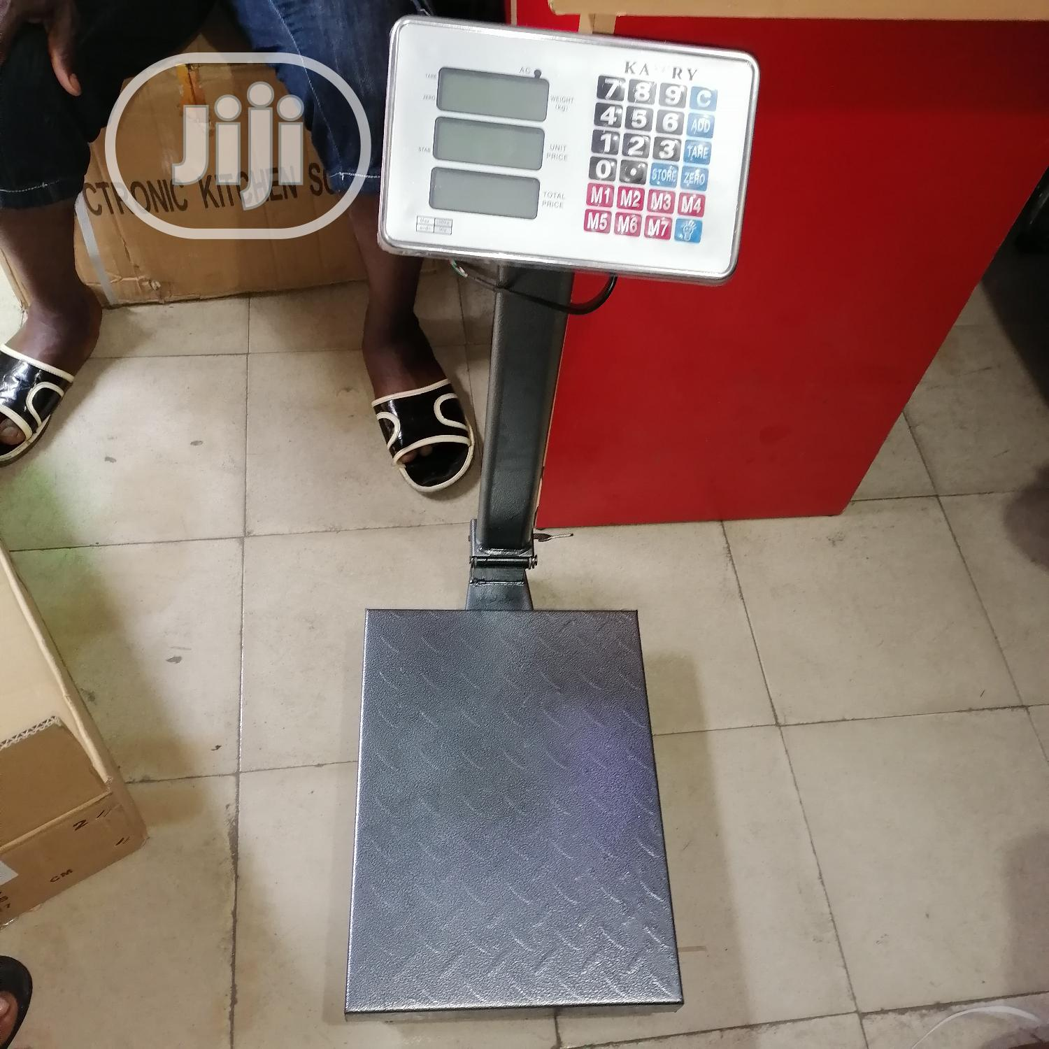 100kg Digital Scale Kamry   Store Equipment for sale in Ojo, Lagos State, Nigeria