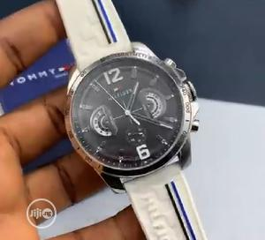 High Quality Tommy Hilfiger Rubber Strap Watch   Watches for sale in Lagos State, Magodo