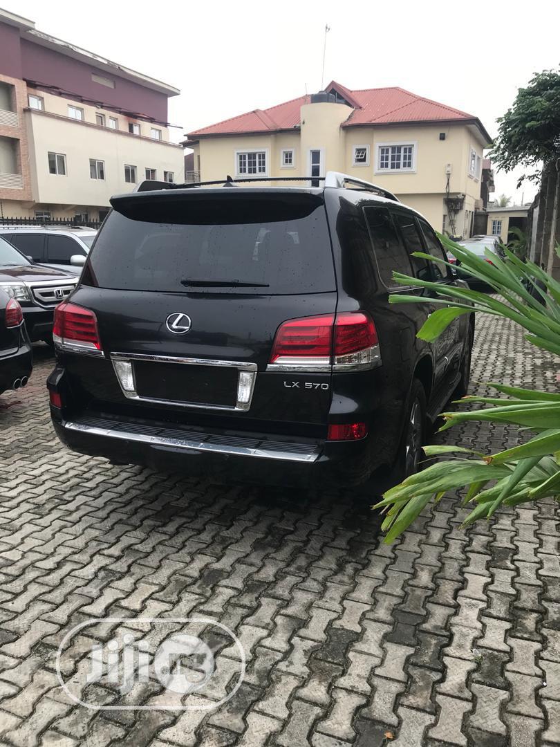 Lexus LX 2015 570 Base Black | Cars for sale in Ikeja, Lagos State, Nigeria