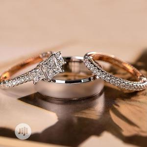 Silver and Gold Wedding Ring Set   Wedding Wear & Accessories for sale in Abuja (FCT) State, Mpape