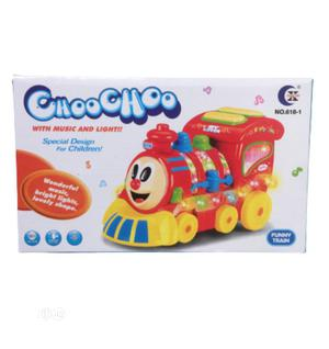 Funny Train Toy With Lights | Toys for sale in Lagos State, Apapa