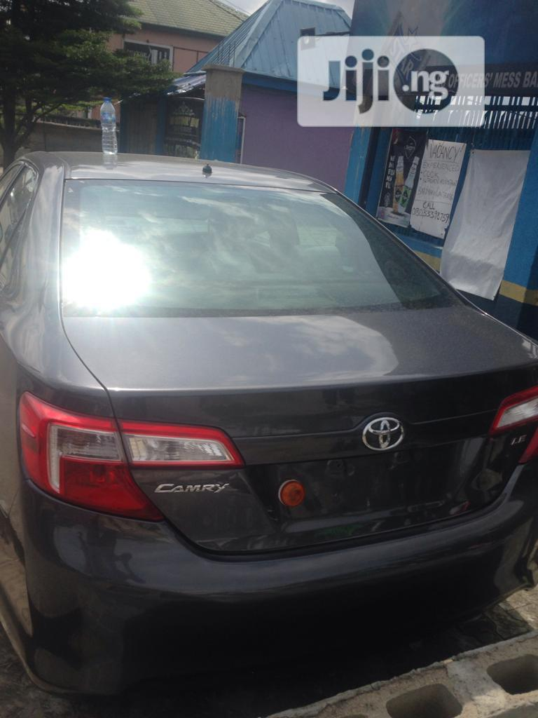 Toyota Camry 2013 Black | Cars for sale in Port-Harcourt, Rivers State, Nigeria