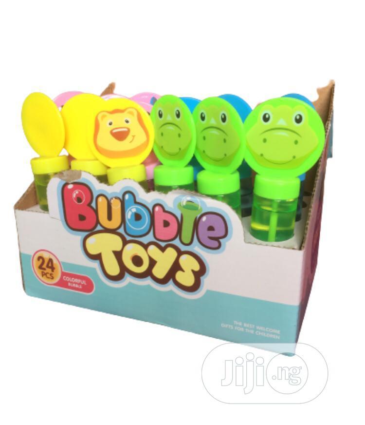 Archive: 12 Pcs Colorful Bubble Toy