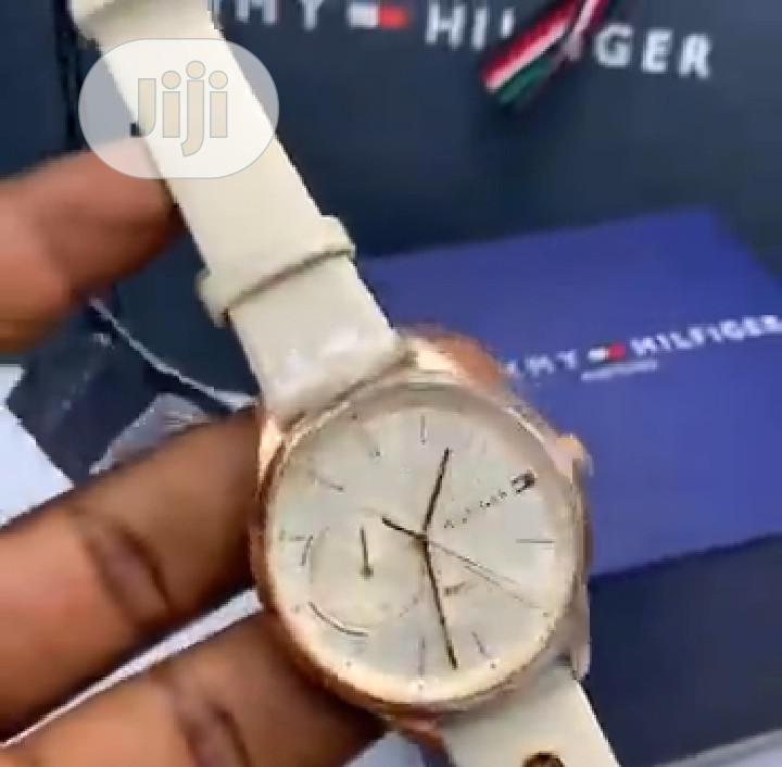 High Quality Tommy Hilfiger Leather Watch