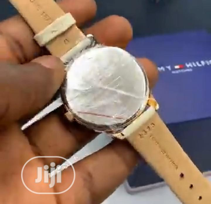High Quality Tommy Hilfiger Leather Watch | Watches for sale in Magodo, Lagos State, Nigeria