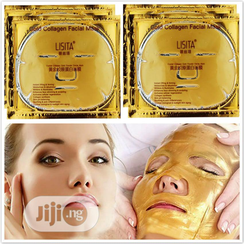 Archive: Gold Collagen Face Mask(4 In 1pack)