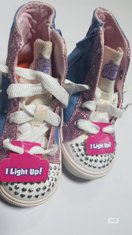 Twinkle Toes Ankle Sneakers
