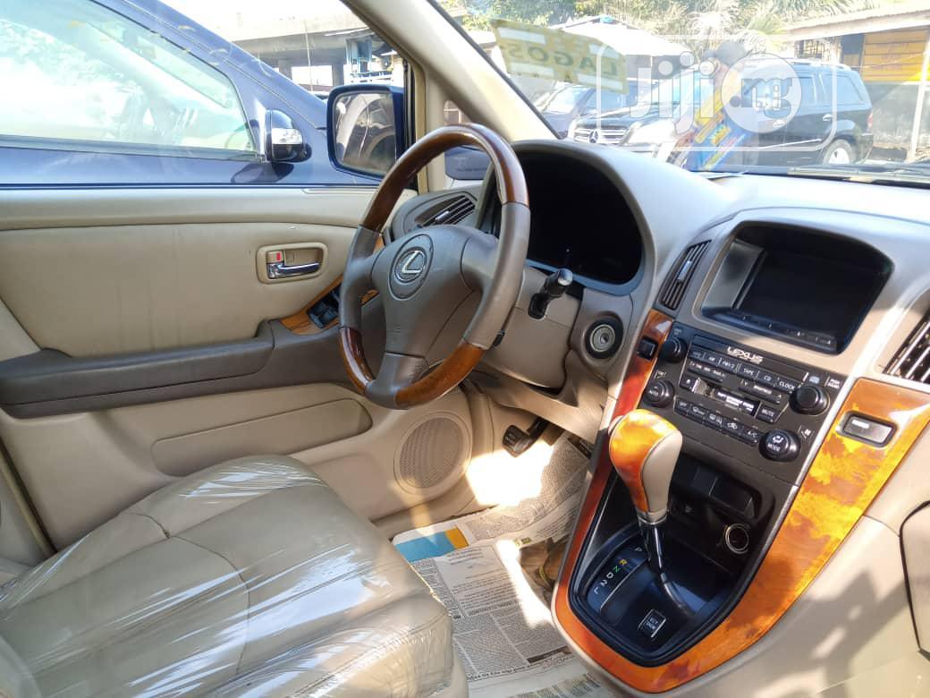 Archive: Lexus RX 2003 Blue