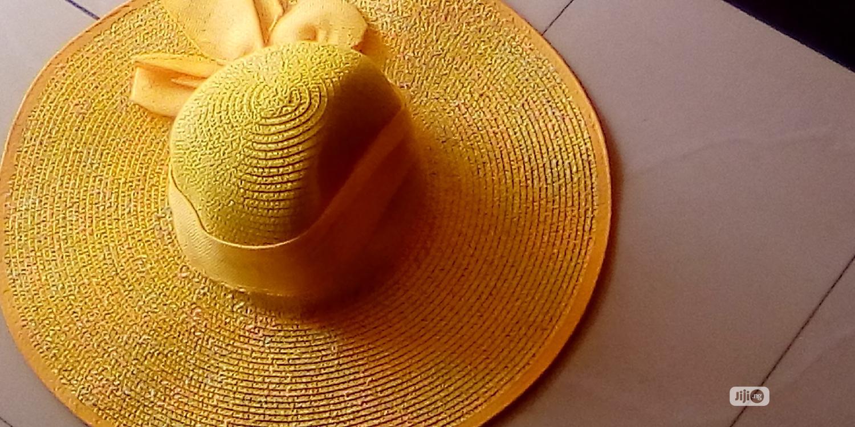 Yellow Beach Hat