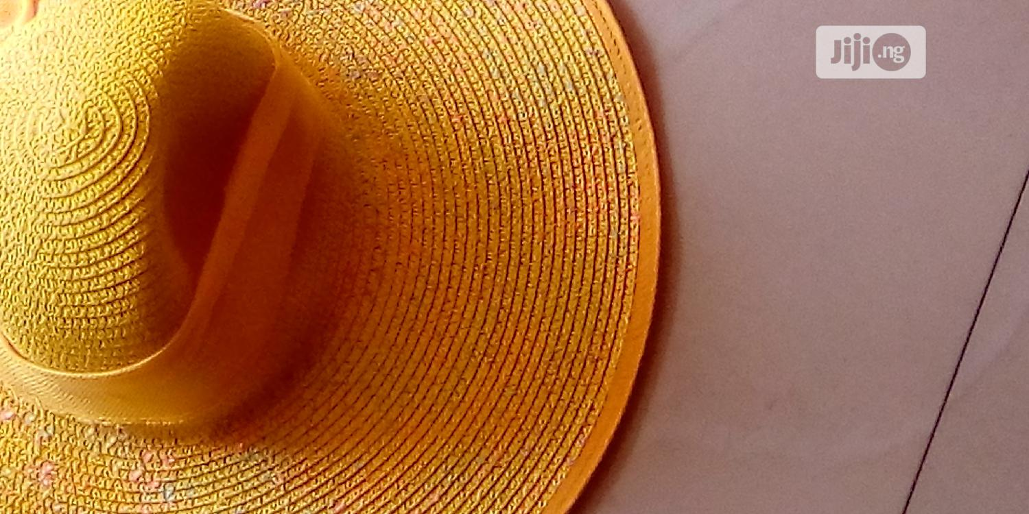 Yellow Beach Hat | Clothing Accessories for sale in Ibeju, Lagos State, Nigeria