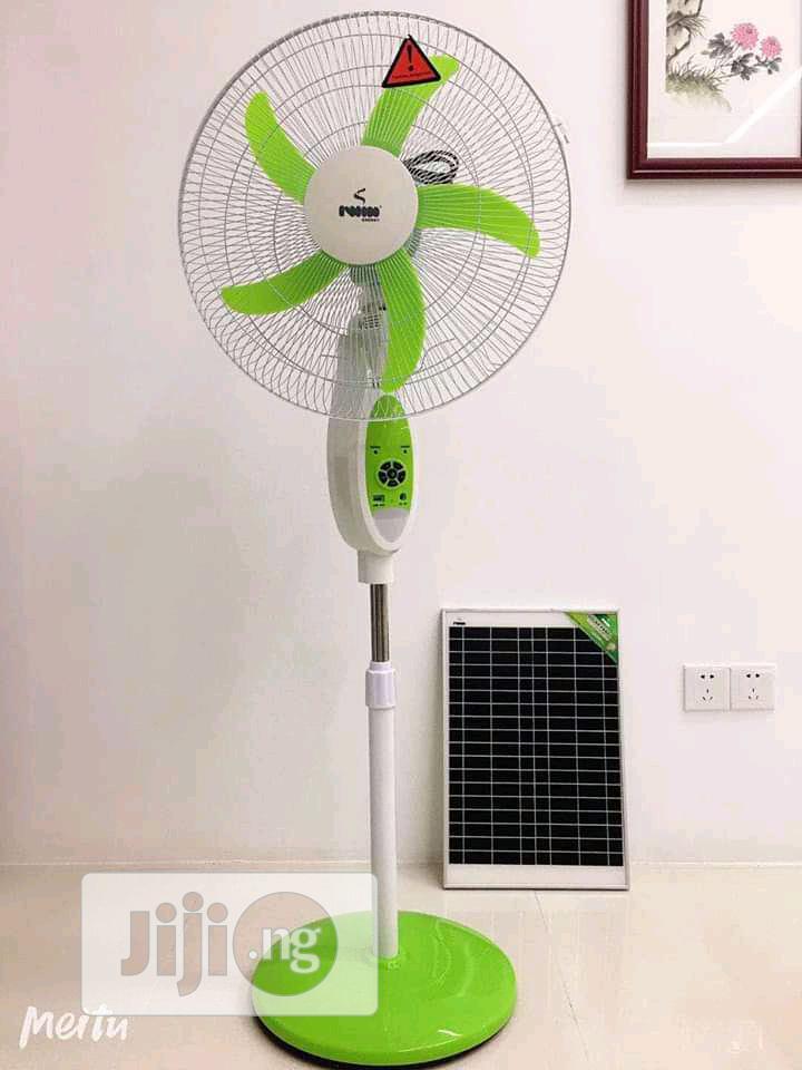 """18"""" DC Solar Fan"""