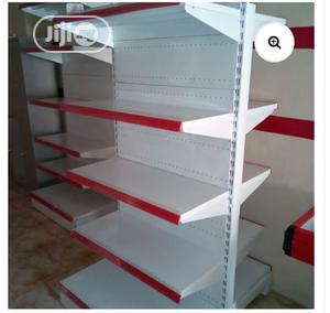 Supermarket Shelves Double-side Steel Rack Display   Store Equipment for sale in Lagos State, Ojo