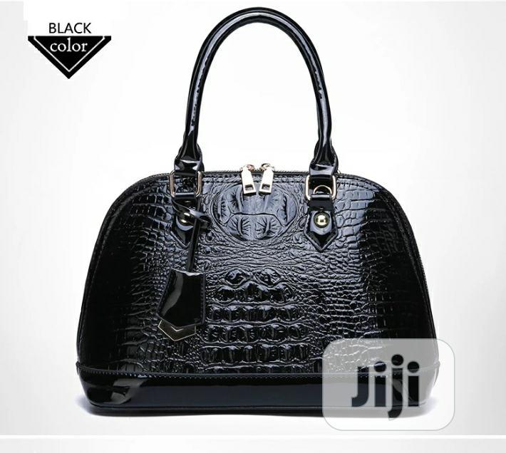 Vintage Crocodile Skin Leather Bag | Bags for sale in Kubwa, Abuja (FCT) State, Nigeria