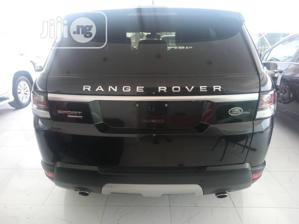 Land Rover Range Rover Sport 2016 HSE 4x4 (3.0L 6cyl 8A) Black | Cars for sale in Lekki, Lagos State, Nigeria