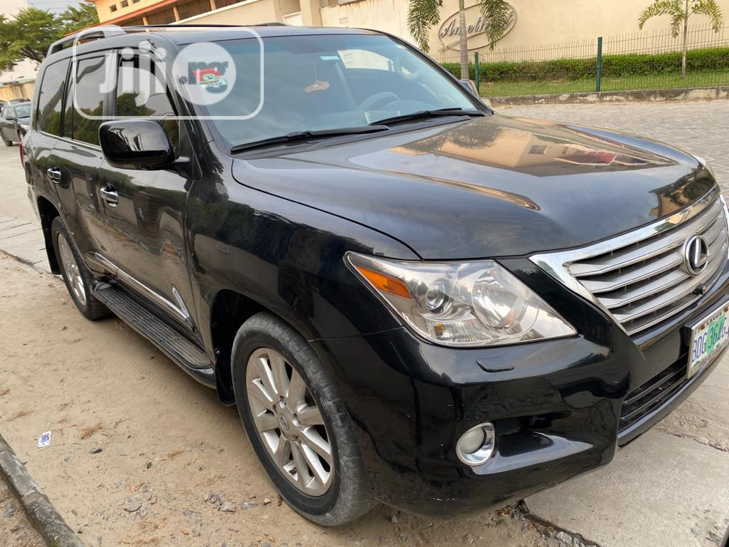 Lexus LX 2008 570 Black | Cars for sale in Lekki, Lagos State, Nigeria