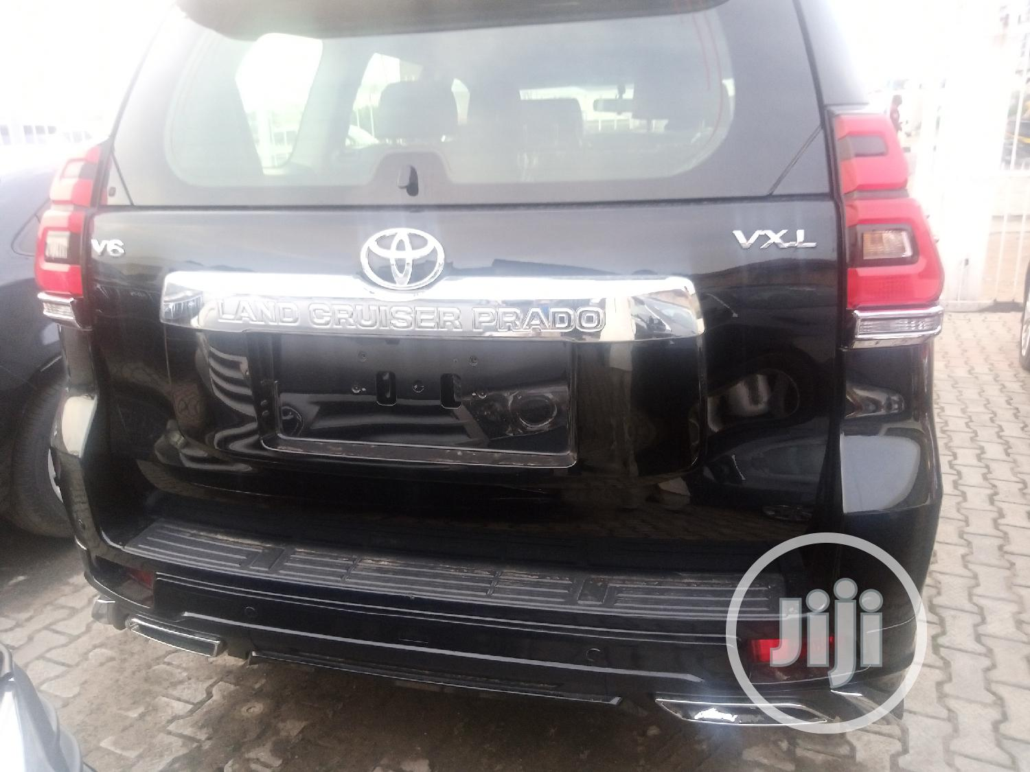 New Toyota Land Cruiser Prado 2020 Black