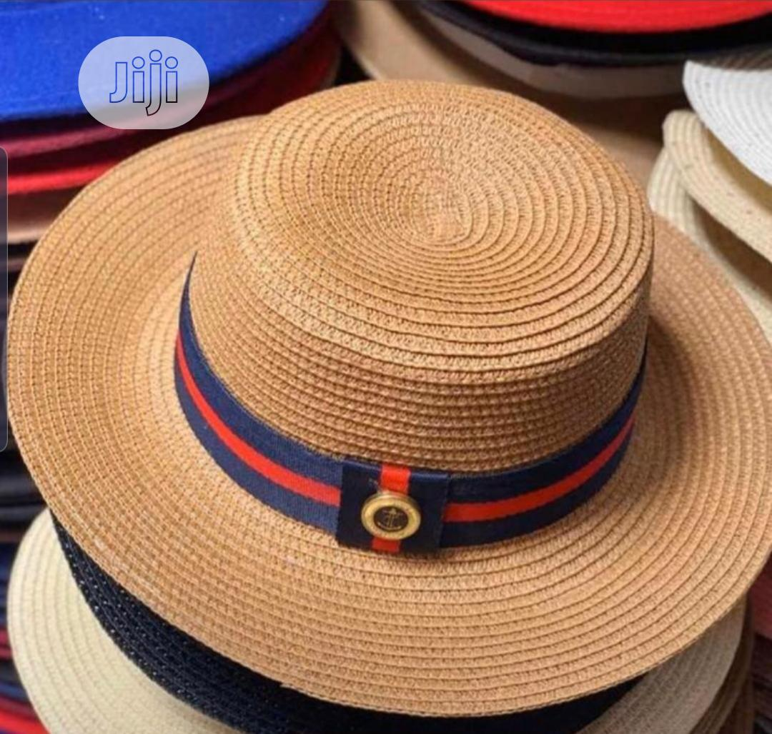 Straw Beach Hats | Clothing Accessories for sale in Lagos Island (Eko), Lagos State, Nigeria