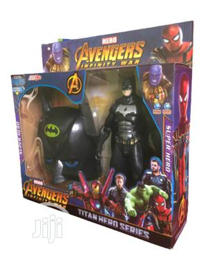 Batman Face Mask With Action Figure | Toys for sale in Lagos State, Apapa