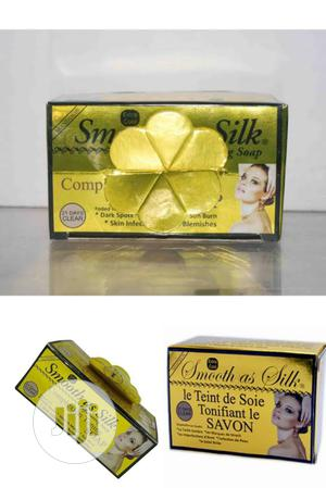 Smooth As Silk Complexion Toning Soap For Spots, Acne, Burns | Bath & Body for sale in Lagos State, Amuwo-Odofin