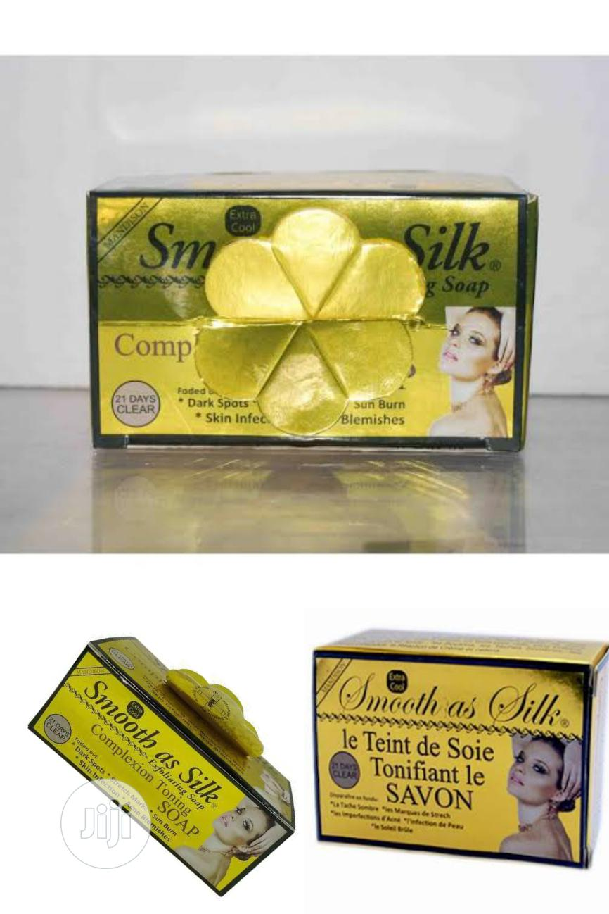 Smooth As Silk Complexion Toning Soap For Spots, Acne, Burns