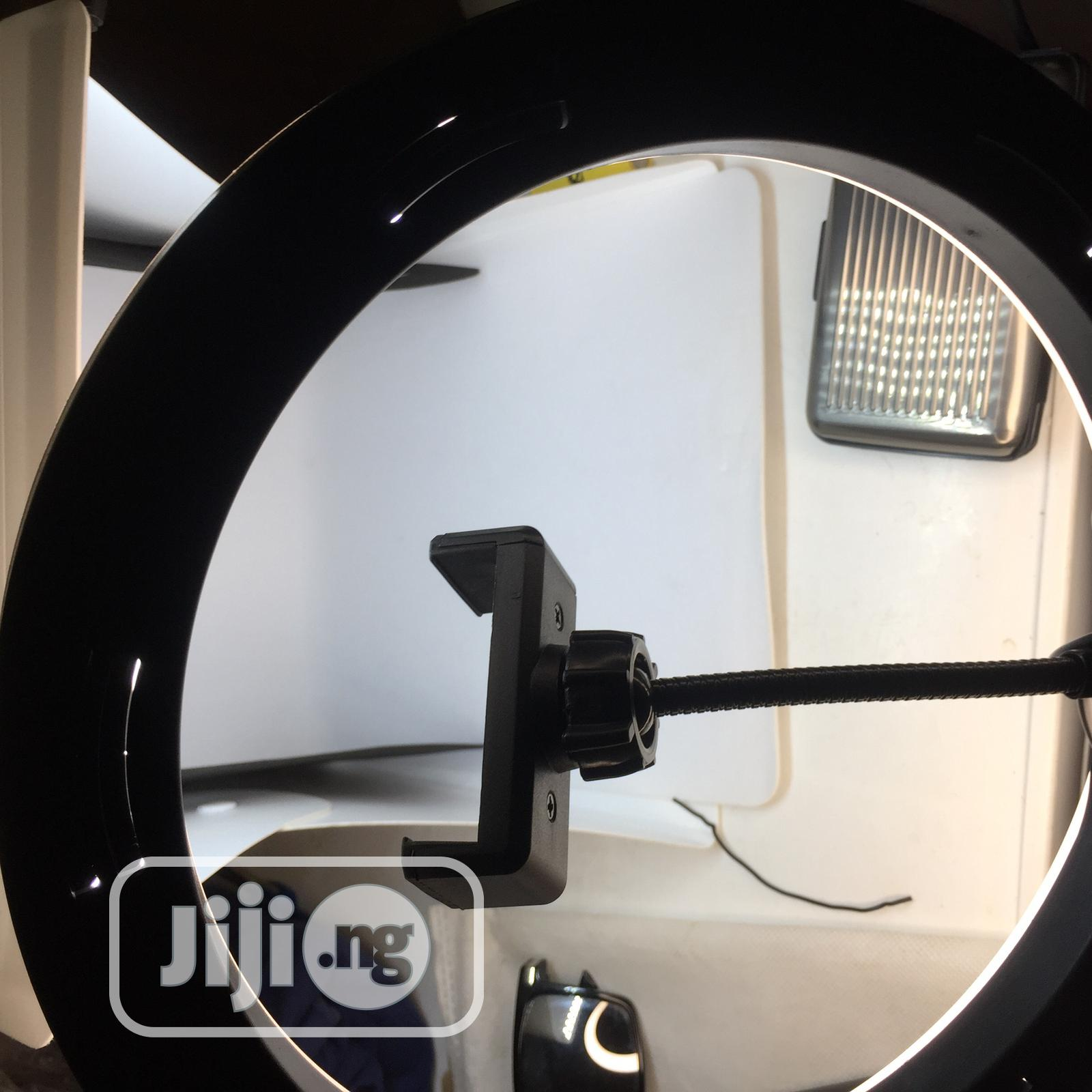 10 Inches LED Ring Light | Accessories & Supplies for Electronics for sale in Ibadan, Oyo State, Nigeria
