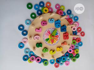 Wooden Clock Toy(Montessori) | Toys for sale in Lagos State, Ikeja
