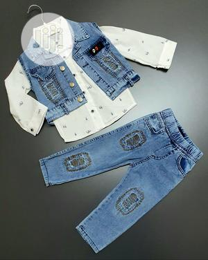 Children 3in1 Jeans Set | Children's Clothing for sale in Lagos State, Surulere