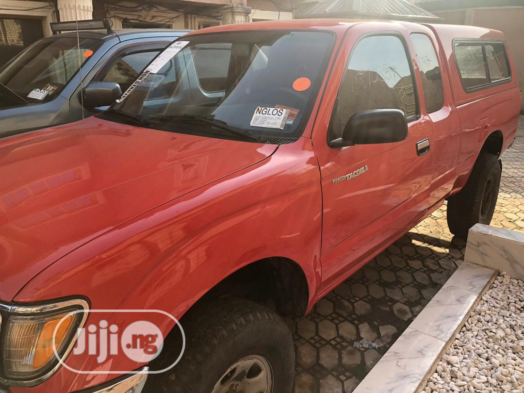 Toyota Tacoma 1996 Red | Cars for sale in Isolo, Lagos State, Nigeria