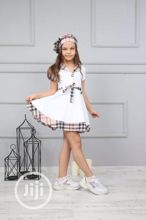 White Burberry Gown | Children's Clothing for sale in Lagos State, Lekki