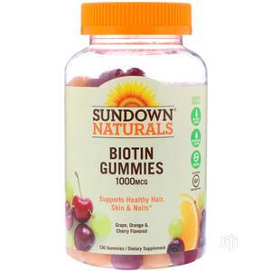 Biotin Gummies 1000MCG (Healthy Hair, Skin Nails) 130gums   Vitamins & Supplements for sale in Lagos State, Ipaja