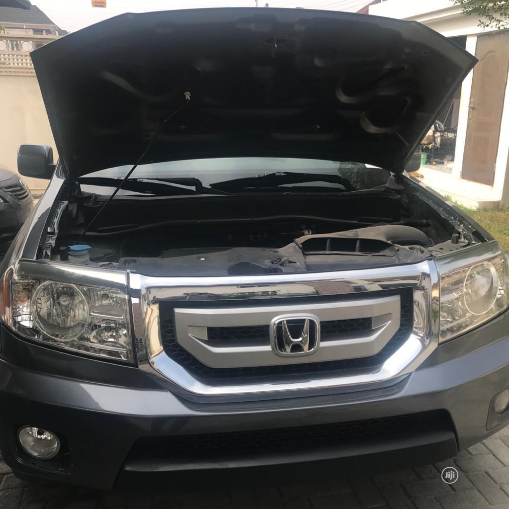 Honda Pilot 2010 EX 4dr SUV (3.5L 6cyl 5A) Gray | Cars for sale in Ajah, Lagos State, Nigeria