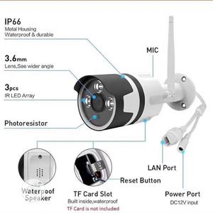 Ip Camera/ Wifi Camera With Memory Card..Mobile View Enabled | Security & Surveillance for sale in Lagos State, Ojo