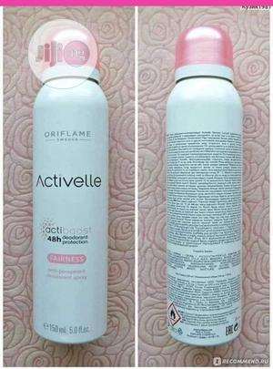 Activelle Fairness Body Spray-150ml | Bath & Body for sale in Lagos State, Ikeja