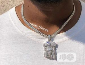 Ice Cuban Chain   Jewelry for sale in Delta State, Warri