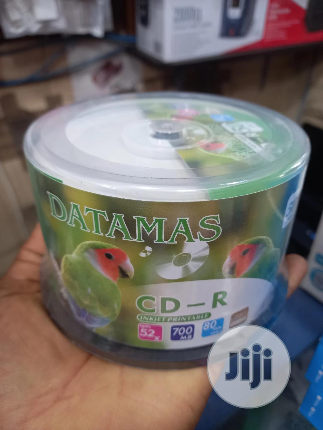 DATAMAS CD-R Printable By 50 | CDs & DVDs for sale in Ikeja, Lagos State, Nigeria