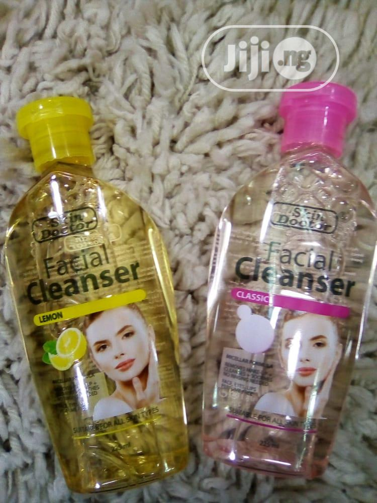 Skin Doctor Facial Cleanser. Different Flavors and Colors