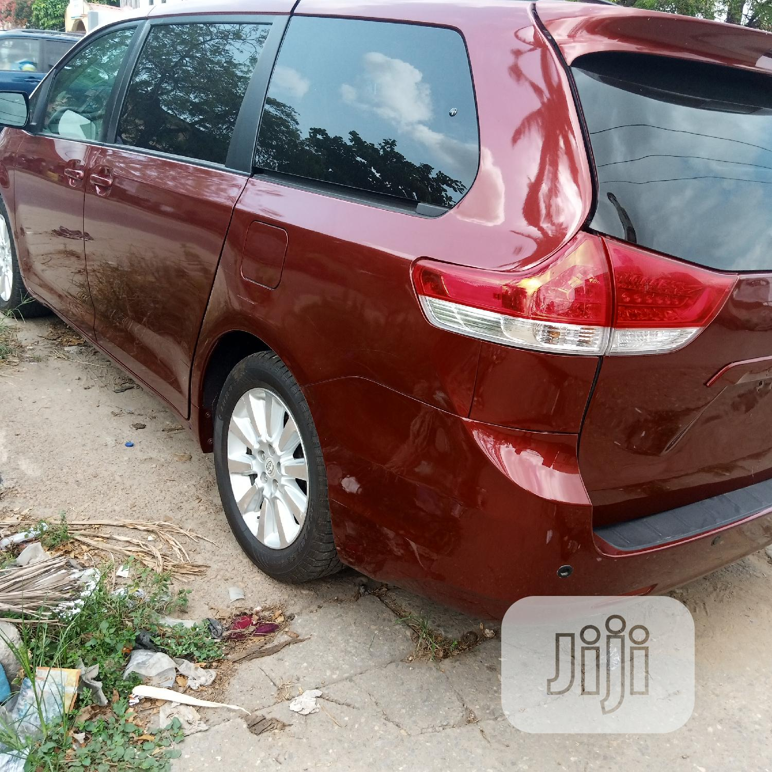 Toyota Sienna 2012 Red | Cars for sale in Amuwo-Odofin, Lagos State, Nigeria