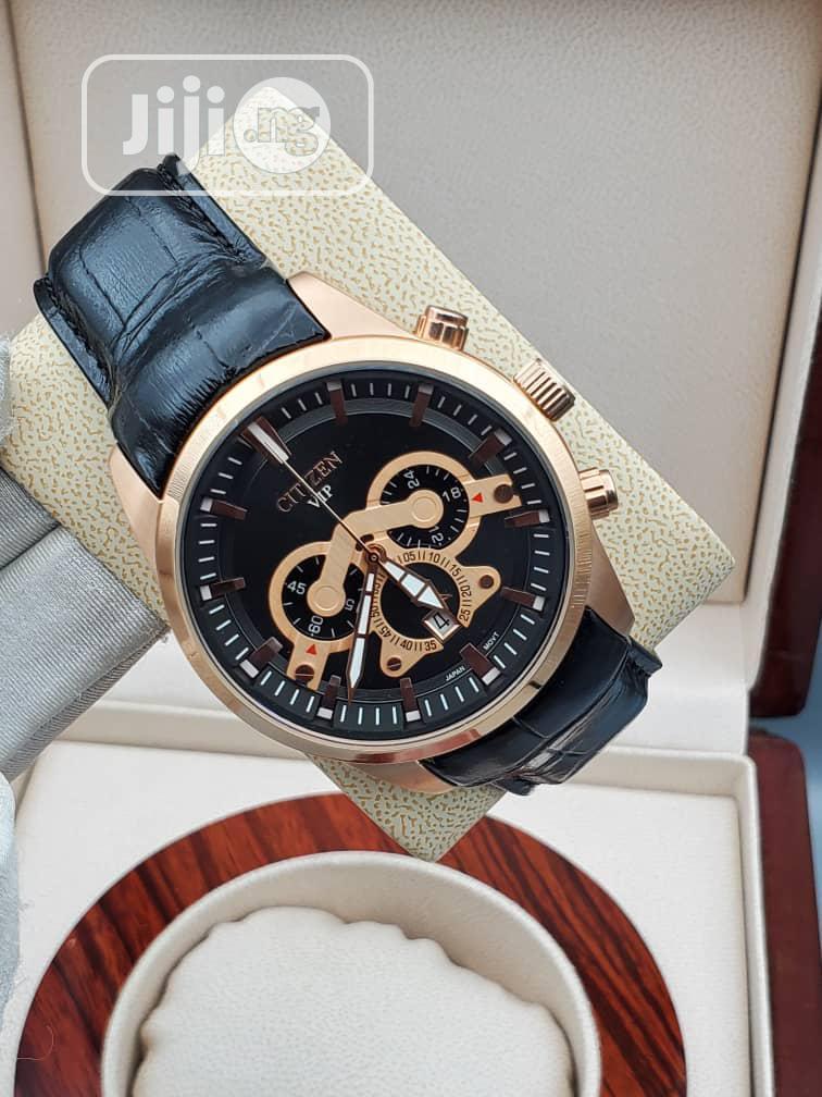 Original Leather Wrist Watch